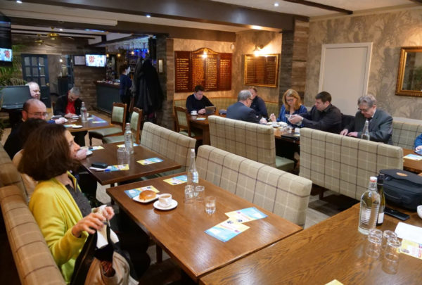 Business IQ networking meeting