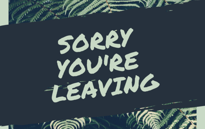 RJM Consulting - Please look after me when I'm leaving